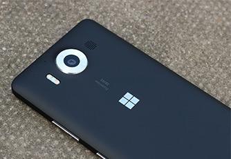 درب پشت Microsoft Lumia 950