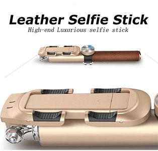 مونوپاد بلوتوث WO Leather Selfie Stick BR11