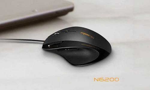 موس اپتیکال باسیم رپو Rapoo N6200 Optical Gaming Mouse