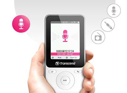 پخش کننده موسیقی ترنسند Transcend MP710 Digital Music Player 8GB