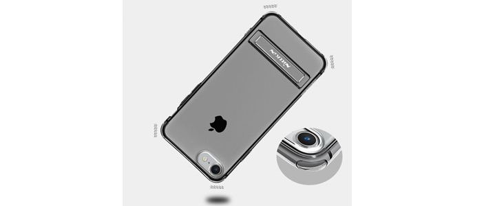 محافظ ژله ای نیلکین آیفون Nillkin CrashproofⅡtransparent holder iphone 7 Plus