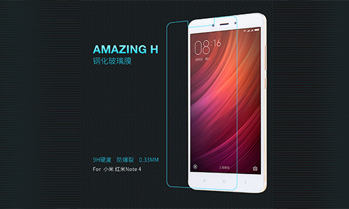 محافظ صفحه نمایش شیشه ای نیلکین شیائومی Nillkin Glass H Xiaomi Note 4