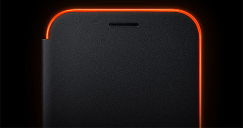 کیف اصلی سامسونگ Samsung A5 2017 Neon Flip Cover