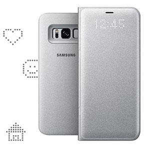 کیف محافظ اصلی سامسونگ Samsung Galaxy S8 LED Cover