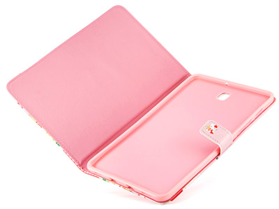 کیف تبلت سامسونگ طرح کیتی Colourful Case Samsung Galaxy Tab S2 8.0 Kitty Pink