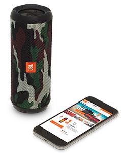 اسپیکر بلوتوث جی بی ال چریکی JBL Flip 3 Squad Bluetooth Speaker