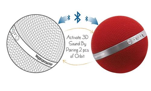 اسپیکر بلوتوث بی سیم پرومیت Promate Orbit Bluetooth Wireless Speaker