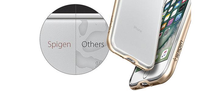 قاب محافظ گوشی آیفون 7 با نمایی شفاف و بدون حباب