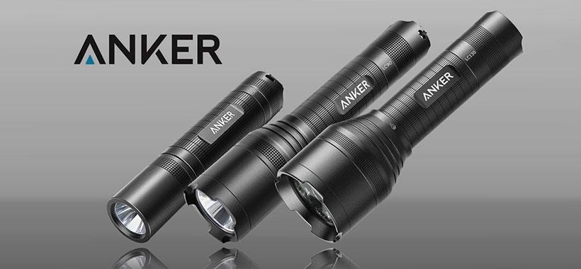 چراغ قوه ضد آب انکر LC40 Flashlight