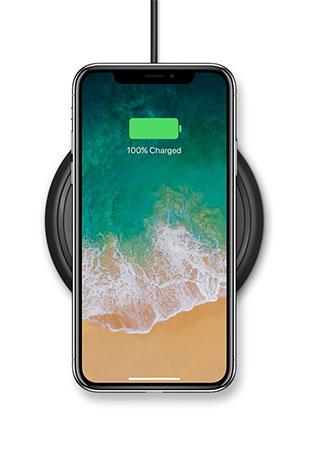 شارژر وایرلس اپل موفی Apple Mophie Wireless Charging Base