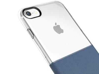 لوگوی اپل در قاب شفاف و بیرنگ بیسوس نمایان است