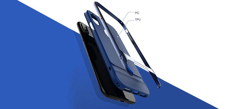 قاب محافظ راک آیفون iPhone X
