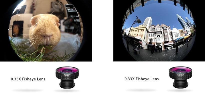 لنز فیش آی گوشی موبایل آکی PL-F2