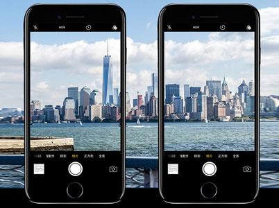 کیفیت تصویر ثبت شده پس از نصب محافظ لنز با دوربین آیفون 7 افت نمیکند.