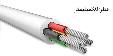 کابل صدا بیسوس aing audio e36