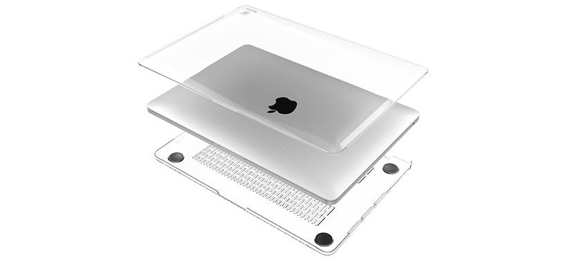 کاور محافظ شفاف بیسوس MacBook Pro 13 inch
