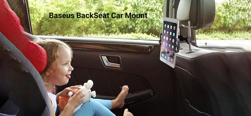 پایه نگهدارنده گوشی بیسوس Backseat