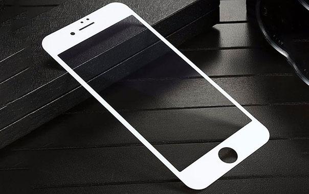 محافظ صفحه نمایش شیشه ای بیسوس آیفون با طراحی باریک