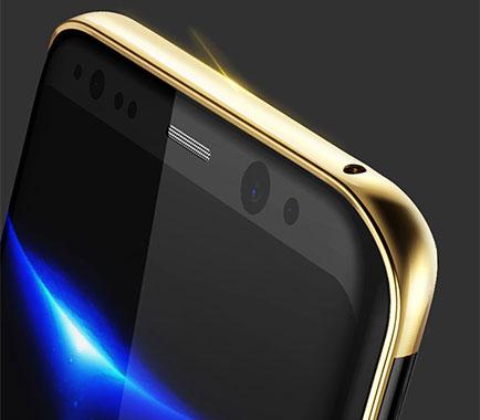 قاب محافظ بیسوس سامسونگ با رنگ درخشان Baseus Galaxy S8