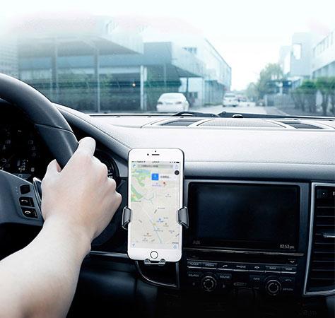مشاهده راحت GPS با نگهدارنده موبایل بیسوس