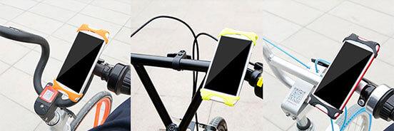 نگهدارنده گوشی مارک بیسوس قابل استفاده برای دوچرخه های مختلف