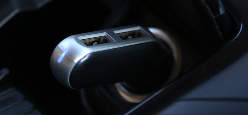 نشانگر LED شارژر فندکی بیسوس