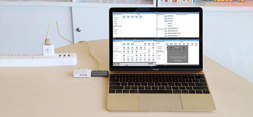 درگاه USB مبدل بیسوس برای انتقال داده