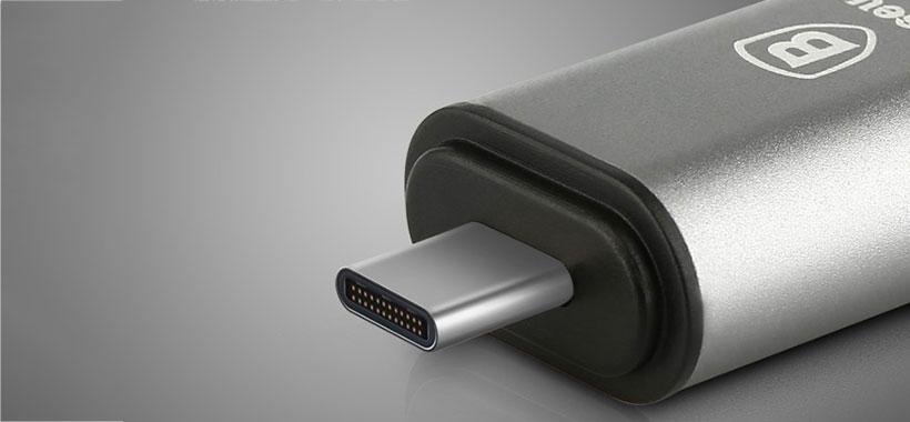 درگاه Type C مبدل بیسوس برای شارژ مک بوک