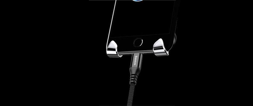 شارژ گوشی هنگام قرار داشتن روی استند بیسوس امکان پذیر است