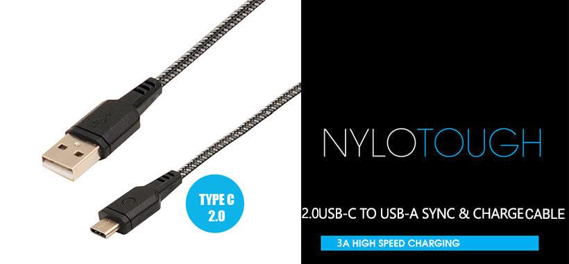 کابل شارژ و انتقال داده USB-C To USB-A Energea