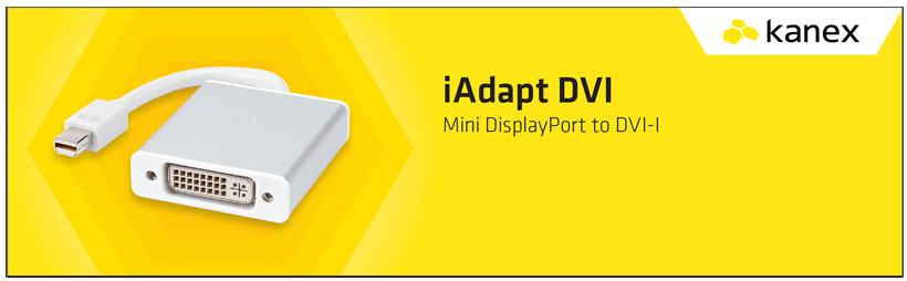مبدل پورت Mini Display به DVI کانکس