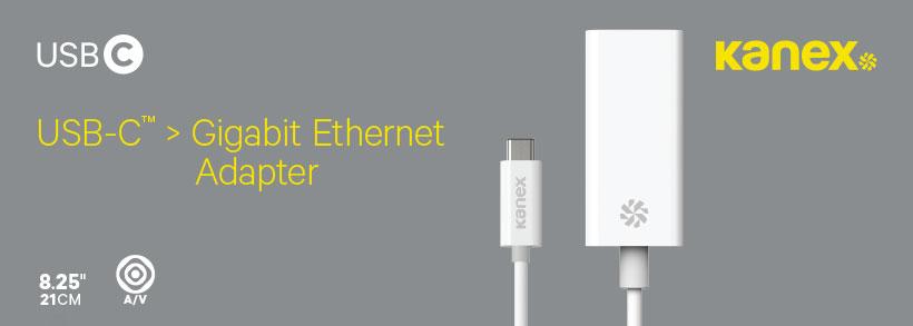 مبدل Type-C به Gigabit Ethernet کانکس