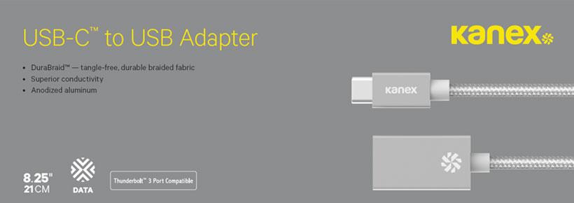 کابل تبدیل USB-C به USB-A کانکس