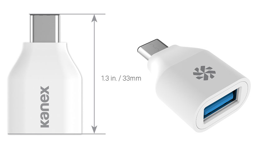 کوچکترین آداپتور USB-C