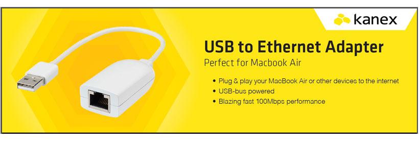 مبدل USB به Ethernet کانکس