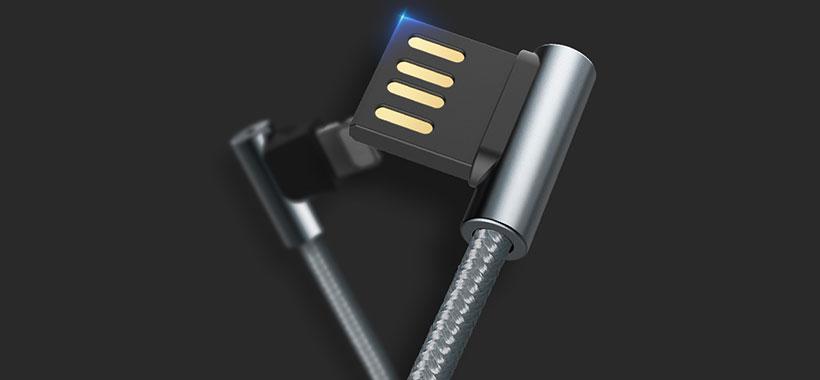 طراحی برگشتی کانکتور شارژ استفاده از آن را آسان کرده است