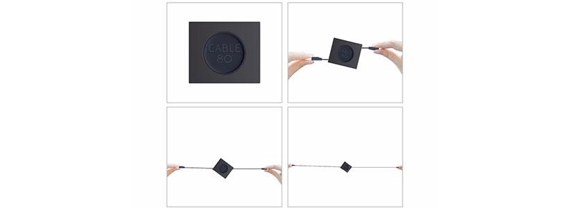 طول مناسب کابل شارژ لایتنینگ