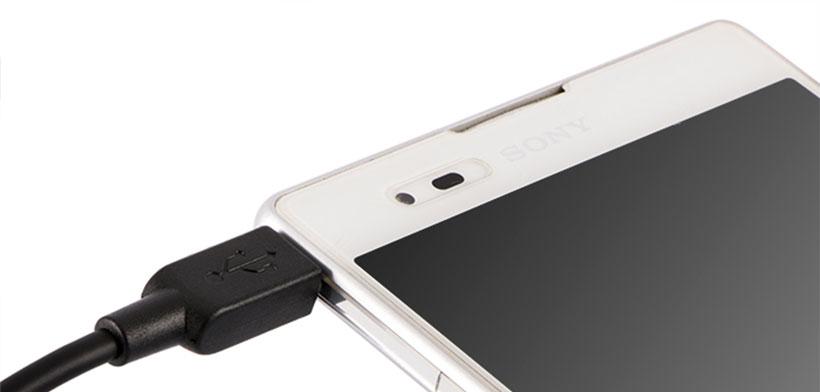 کابل شارژ میکرو یو اس بی Sony EC300