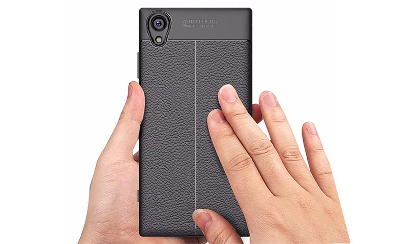 قاب ژله ای طرح چرم سونی Auto Focus Jelly Case Sony Xperia XA1 Plus