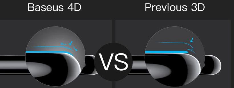 برش 4D برای پوشش بهتر بدنه آیفون 8 پلاس
