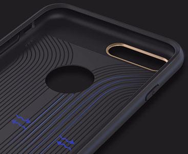 قاب محافظ بیسوس iPhone 7 Plus بدون ایجاد محدودیت در استفاده از پورت ها و اسپیکر