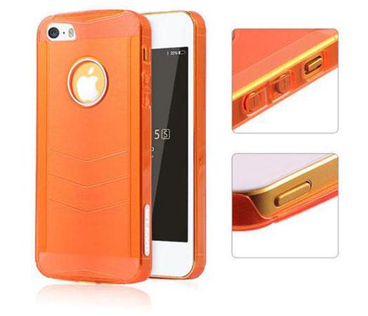 قاب محافظ شفاف بیسوس آیفون Baseus Ultra Thin Case Apple iPhone 5/5S