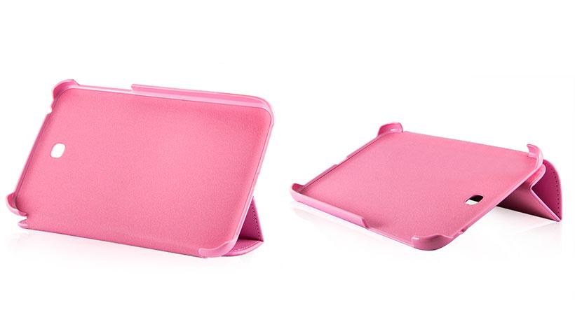 کیف هوشمند چرمی بلک برای تبلت سامسونگ گلکسی Tab 3 7.0