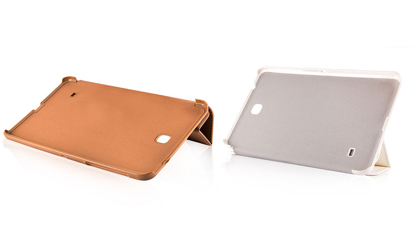 کیف هوشمند چرمی بلک برای تبلت سامسونگ گلکسی Tab 4 8.0