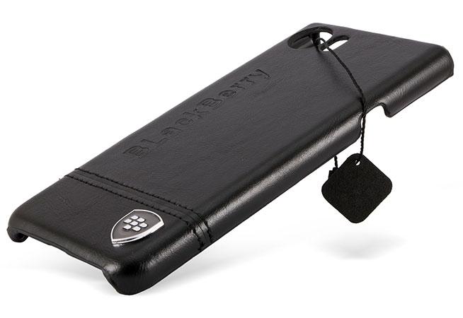 قاب محافظ چرمی بلک بری BlackBerry Keyone Dtek70 Leather Case
