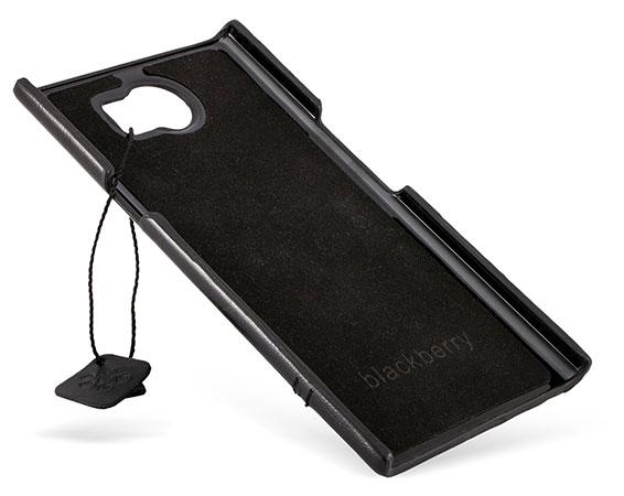 قاب محافظ طرح چرم بلک بری BlackBerry Priv Leather Design Hard Case