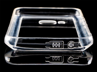 محافظ شیشه ای ژله ای اچ تی سی ام 9