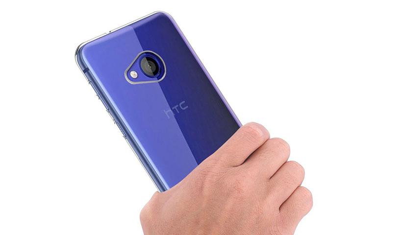 قاب شفاف و ژلهای HTC U Ultra