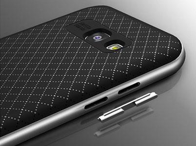 پوشش فلزی روی کلیدهای کاور Galaxy A5 2017