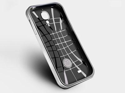 طراحی خاص لایه داخلی قاب محافظ گلکسی اس4